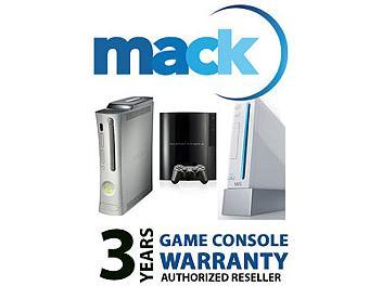 Mack 1090 3 Year Game Console International Warranty (under USD1000)