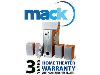 Mack 1001 3 Year Home Theater International Warranty (under USD2500)