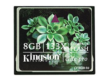 Kingston 8GB CompactFlash Elite Pro Memory Card (pack 50 pcs)