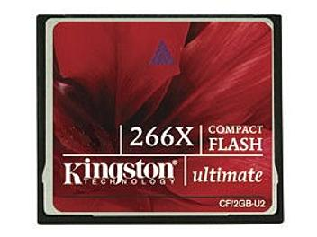 Kingston 4GB CompactFlash Ultimate 266x Memory Card (pack 50 pcs)