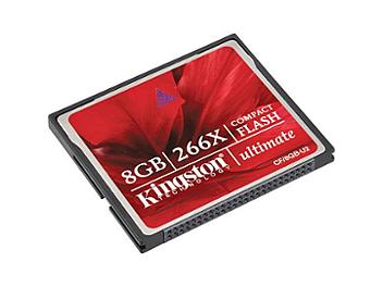 Kingston 8GB CompactFlash Ultimate 266x Memory Card (pack 25 pcs)