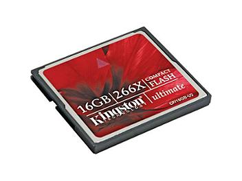 Kingston 16GB CompactFlash Ultimate 266x Memory Card (pack 50 pcs)