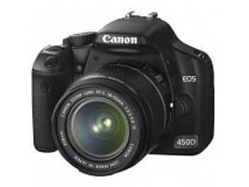 Canon EOS-450D Digital SLR Camera Kit with Canon EF-S 18-200mm IS Lens
