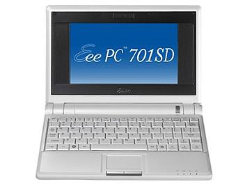 Asus EEE PC 701SD-08LX Netbook - Pearl White