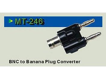 Pintek MT-246 BNC to Banana Converter (pack 10 pcs)