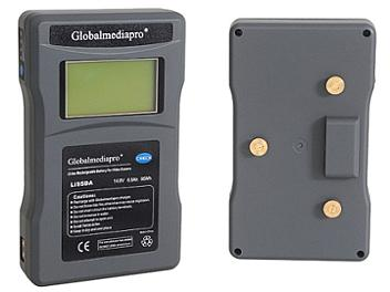 Globalmediapro Li95DA Gold Mount Li-ion Battery 95Wh
