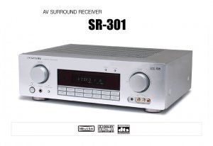 Marantz SR301 AV Surround Receiver