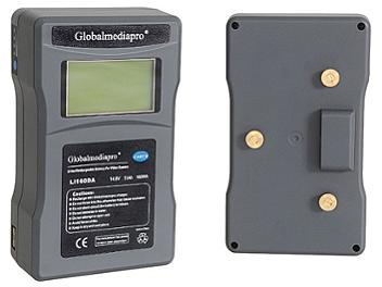 Globalmediapro Li160DA Gold Mount Li-ion Battery 160Wh