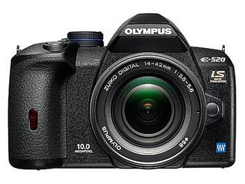 Olympus E-520 Digital SLR Camera Kit with Olympus 14-42mm Lens