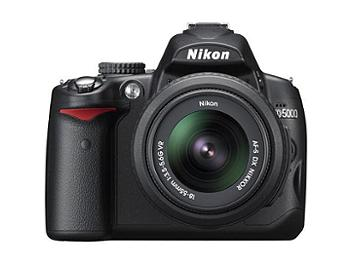 Nikon D5000 DSLR Camera Kit with Nikon 18-55mm VR Lens