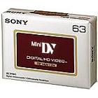 Sony DVM-63HD HDV Cassette (pack 60 pcs)