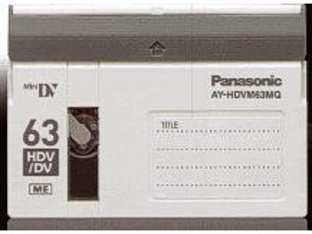 Panasonic AY-HDVM63MQ HDV Cassette (pack 100 pcs)