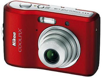 Nikon Coolpix L18 Digital Camera - Red