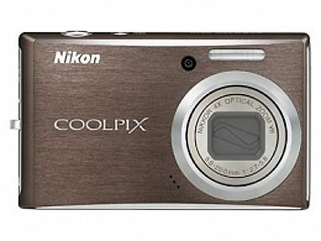 Nikon Coolpix S610 Digital Camera - Brown