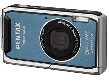 Pentax Optio W60 Digital Camera - Blue