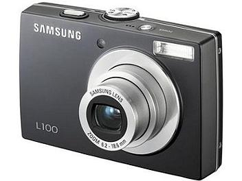 Samsung L100 Digital Camera - Black