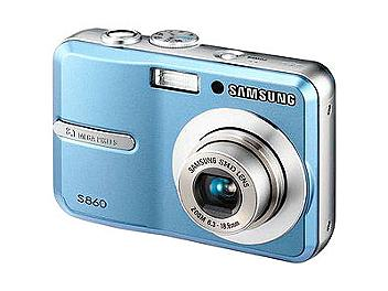 Samsung S860 Digital Camera - Blue