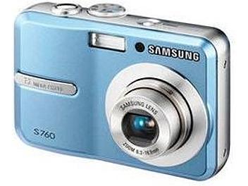 Samsung S760 Digital Camera - Blue