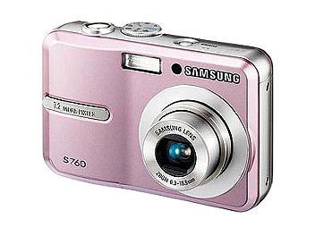 Samsung S760 Digital Camera - Pink