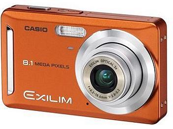 Casio Exilim EX-Z9 Digital Camera - Orange