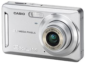 Casio Exilim EX-Z9 Digital Camera - Silver