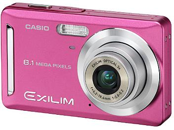 Casio Exilim EX-Z9 Digital Camera - Pink