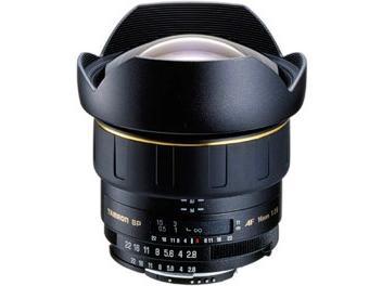 Tamron 14mm F2.8 AF Aspherical Lens - Nikon Mount