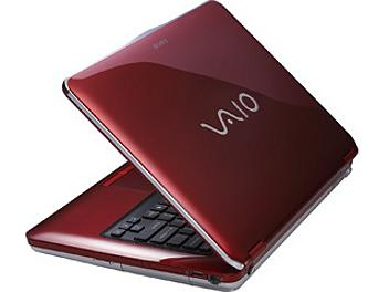 Sony Vaio VGN-CS16G Notebook - Red