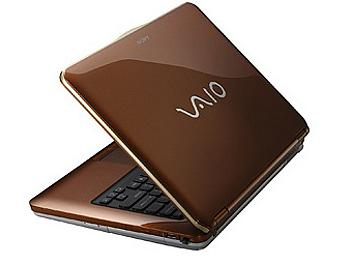 Sony Vaio VGN-CS16G Notebook - Brown