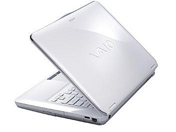 Sony Vaio VGN-CS16G Notebook - White