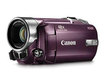 Canon FS-100 Flash Memory Camcorder PAL - Red