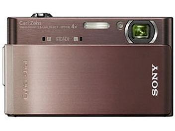 Sony Cyber-shot DSC-T900 Digital Camera - Brown