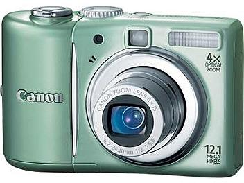 Canon PowerShot A1100 IS Digital Camera - Green