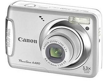 Canon PowerShot A480 Digital Camera - Silver