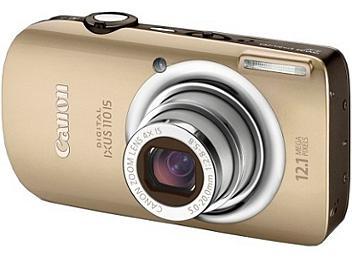 Canon IXUS 110 IS Digital Camera - Gold