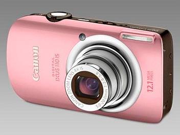 Canon IXUS 110 IS Digital Camera - Pink