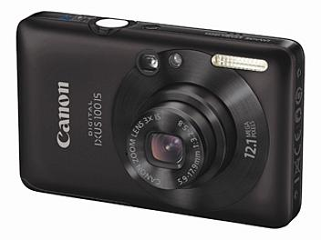 Canon IXUS 100 IS Digital Camera - Black