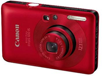 Canon IXUS 100 IS Digital Camera - Red