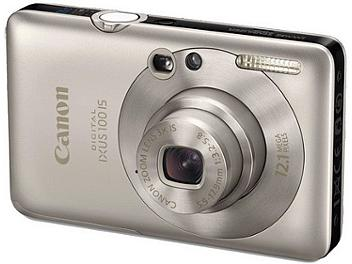 Canon IXUS 100 IS Digital Camera - Silver