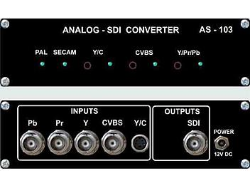 VideoSolutions AS-103 Analog-SDI Converter PAL/SECAM