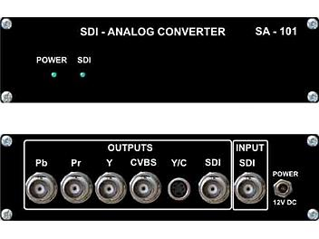 VideoSolutions SA-101 SDI-Analog Converter PAL