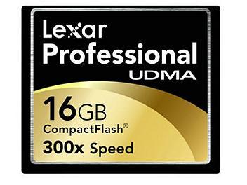 Lexar 16GB UDMA 300x CompactFlash Card