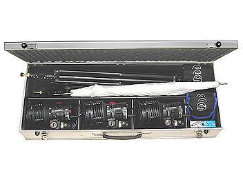 Sachtler S322HSM - Reporter 300H Tungsten Lighting SET 230V