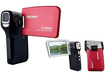 Tekxon VX7400HD Digital Camcorder - Red