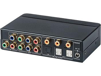 Globalmediapro SHE YD02D 1x2 Component Video Distributor / Amplifier