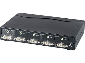 Globalmediapro SHE DS04A 4x1 DVI Switcher