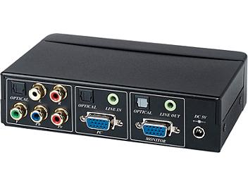 Globalmediapro SHE YV01 Component Video to VGA Converter