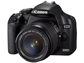 Canon EOS-500D DSLR Camera Kit with Canon EF-S 18-55mm IS Lens