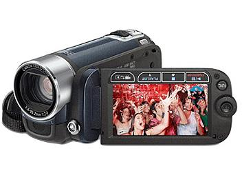 Canon FS-200 Flash Memory Camcorder PAL - Blue
