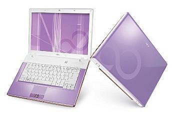 Fujitsu L1010 Notebook - Purple